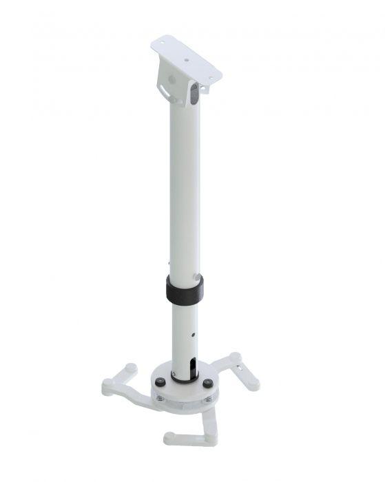 Suporte Para Projetor Universal Branco - STP5075T  - LD Cabos Soluções Áudio e Vídeo