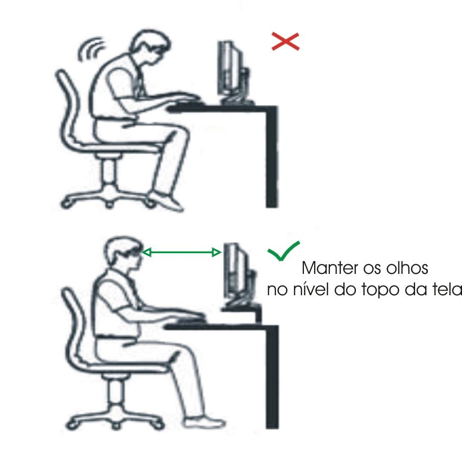 Suporte curto para monitor
