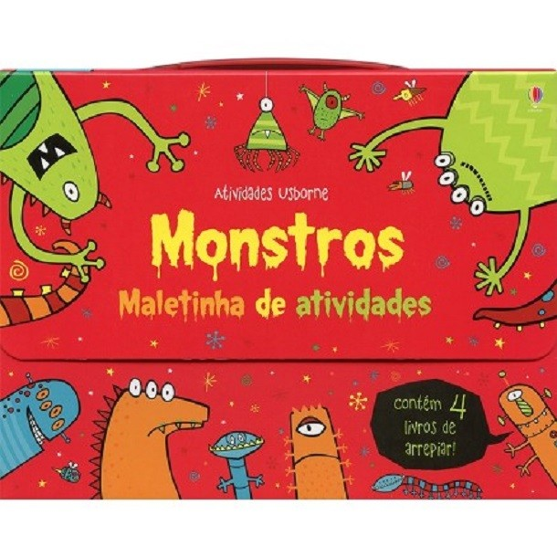 Maletinha de Atividades Monstro - Usborne