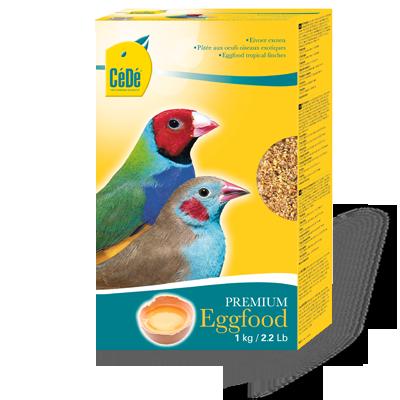 Pássaros exóticos - Kg ( Eggfood Tropical Finches)  - CéDé Brasil