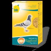 Alimento de ovo para pombos