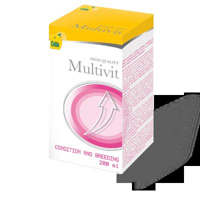 MultVit -  200ml (Multivitaminico)  - CéDé Brasil
