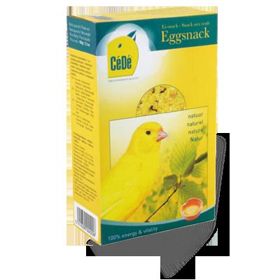 Snack de ovo para canários 150g/Cx  - CéDé Brasil