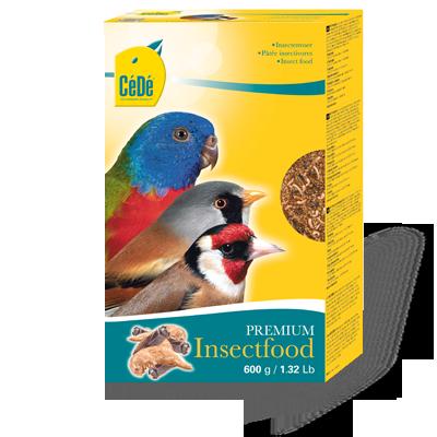 Alimento de Insetos - 600gr.  - CéDé Brasil