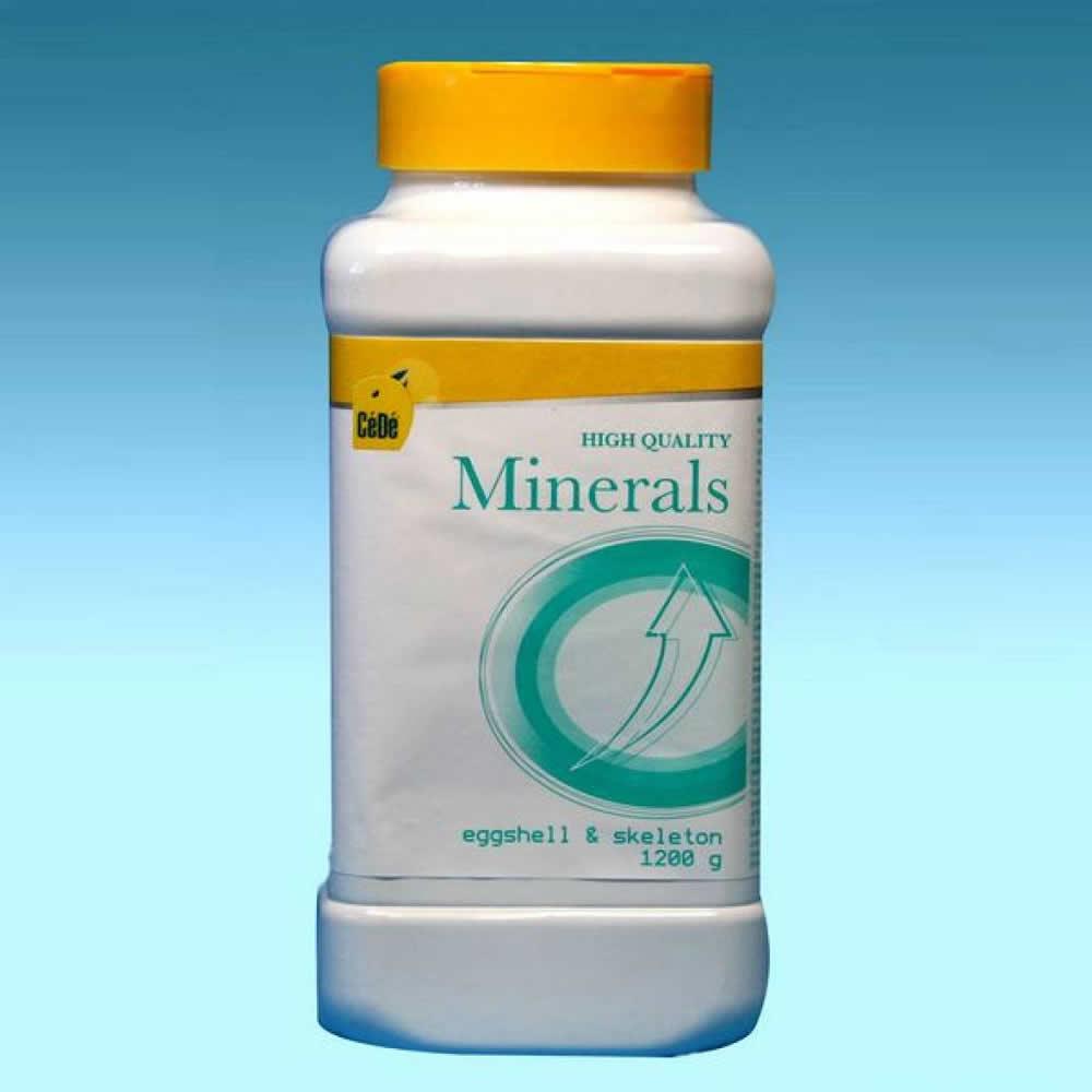 Minerais - 1,2 Kg  - CéDé Brasil