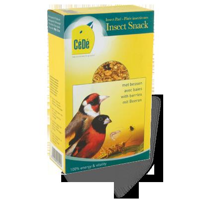 Snack de insetos com bagas 150g - Cx  - CéDé Brasil