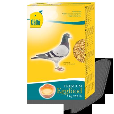 Alimento de ovo para pombos  - CéDé Brasil