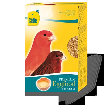 Eggfood Red (Passaros com  fator) Kg  - CéDé Brasil