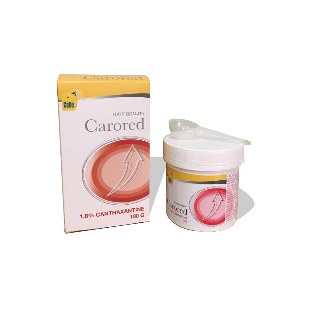 Carored 100g - 1,8% Canthaxantina  - CéDé Brasil