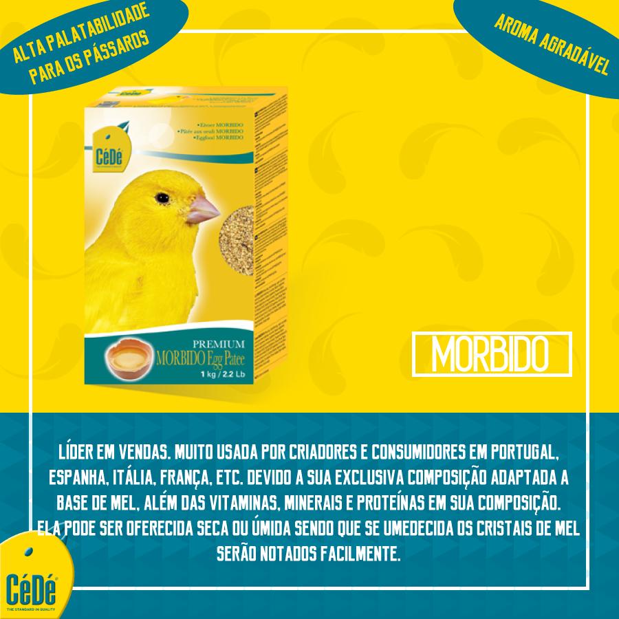 Eggfood Morbido (Patee com mel) Kg  - CéDé Brasil