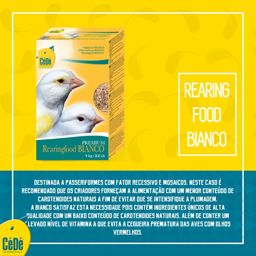 Rearingfood Bianco (Mosaicos e  Recessivos)  - CéDé Brasil