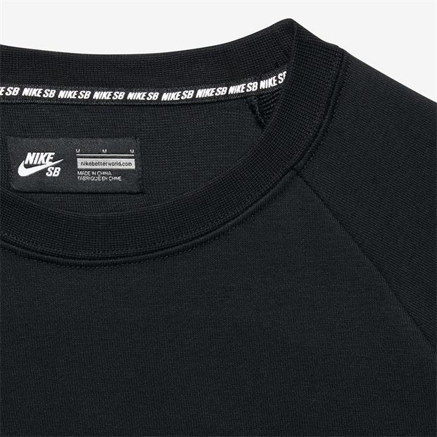 Blusão Nike SB - Dry Everet Crew Black/Anthracite  - No Comply Skate Shop