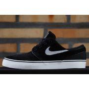 Tênis Nike SB - Zoom Stefan Janoski Black/White