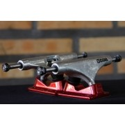 Truck Crail 139 Mid Solid Logo Red/Silver