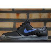 Tênis Nike SB - Lunar Stefan Janoski Black/Game Royal Cool Grey