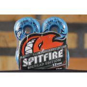 Roda Spitfire - Bighead Tonals Blue 52mm
