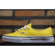 Tênis Vans - U Authentic Cyber Yellow/True White