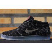 Tênis Nike SB - Lunar Stefan Janoski Mid Flash Black/Black