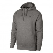 Jaqueta Nike SB - Hoodie Icon HZ Grey Heather/Black