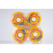 Roda Deathwish - Double Play Yellow Swirl 50mm