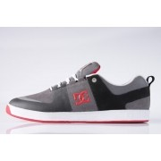 Tênis DC Shoes - Lynx Prestige S Black/Grey/Red