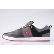 Tênis DC Shoes - Lynx Prestige S Black/Grey/Red
