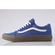 Tênis Vans - Old Skool (Gumsole) Olympian Blue/Medium Gum
