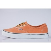 Tênis Vans - U Authentic Vibrant Orange (Washed)