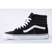 Tênis Vans - U Sk8 High Black/Black/White