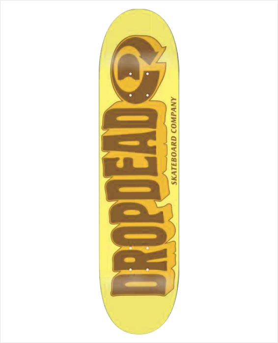 "Shape Dropdead - Heat Transfer Got Acid Yellow 8.1""  - No Comply Skate Shop"