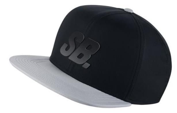 Boné Nike SB - Fade Dri-Fit Black/Wolf Grey  - No Comply Skate Shop