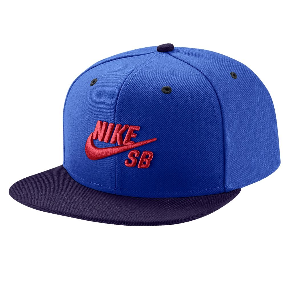 No Comply Skate Shop Nike SB Boné Nike SB - Icon Snapback Blue 484fe9ff96f