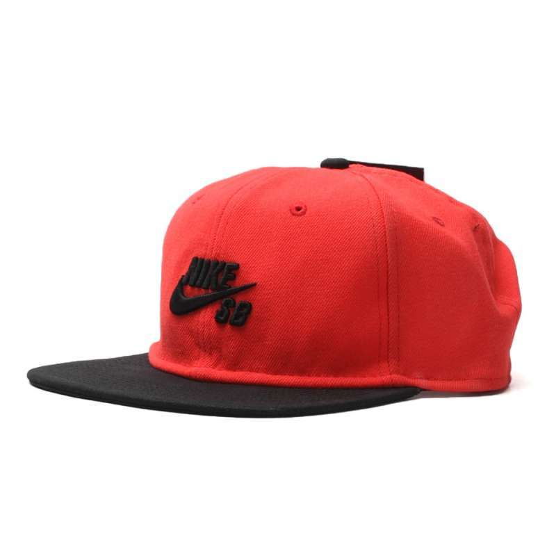 No Comply Skate Shop Nike SB Boné Nike SB - Icon Snapback Red 943fcd8d079