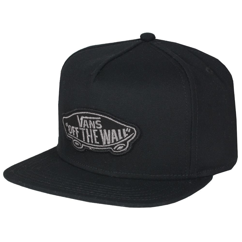 Boné Vans - Classic Patch Snapback Black  - No Comply Skate Shop