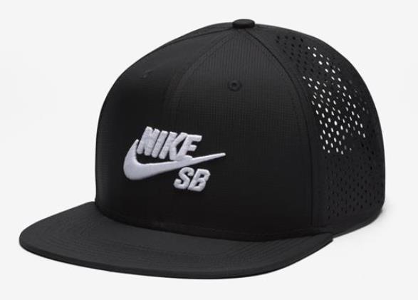 Boné Nike SB - Performance Trucker Black/Black/White  - No Comply Skate Shop