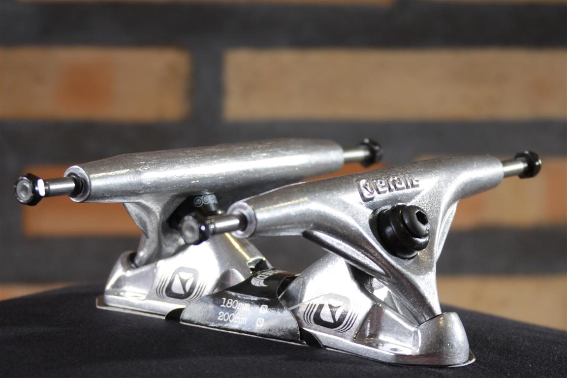 Truck Crail Speed 180 Classic Logo Silver  - No Comply Skate Shop