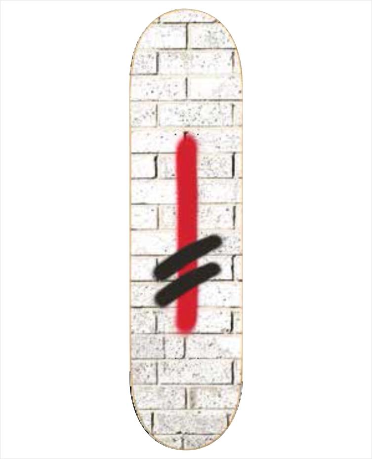 "Shape Deathwish - Jim Greco Bricks WHT 8.0""  - No Comply Skate Shop"