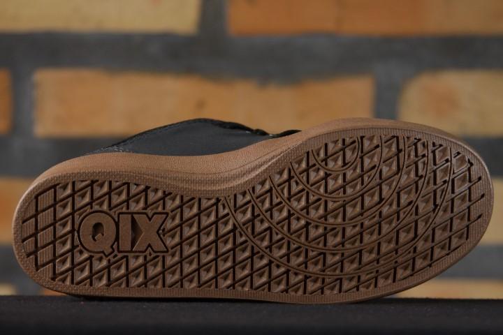 Tênis Qix - Kelvin III Infantil Preto/Natural  - No Comply Skate Shop