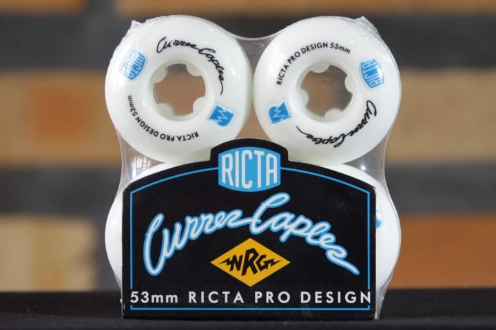 Roda Ricta - Pro NRG Curren Caples 53mm  - No Comply Skate Shop