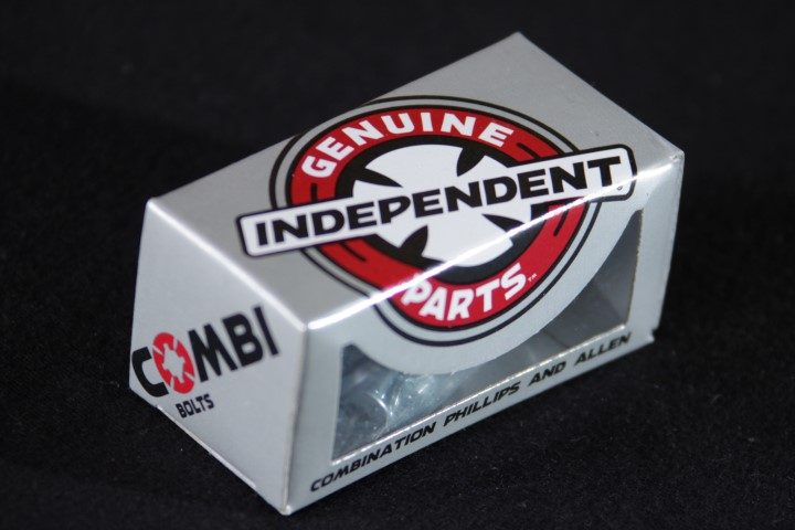 "Parafuso de Base Independent - Combi Bolts 7/8"" Silver (Allen + Phillips)  - No Comply Skate Shop"