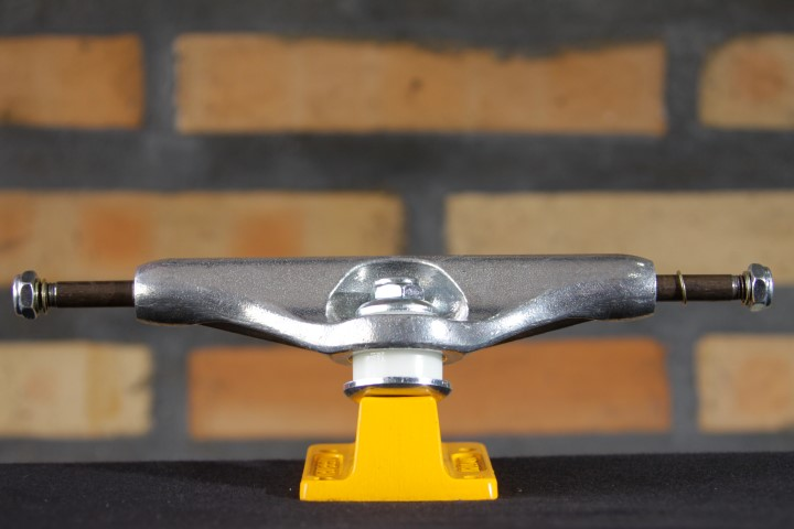 Truck Independent - 149 Stage 11 Strike Cross Polished Yellow  - No Comply Skate Shop