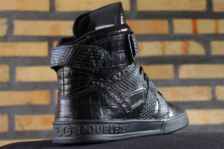 Tênis Double-G Preto/Croco  - No Comply Skate Shop