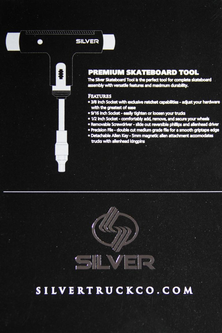 Silver Tool - Black  - No Comply Skate Shop