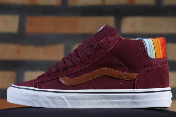 Tênis Vans - U Mid Skool 77 Port Royale/Multi Stripe  - No Comply Skate Shop