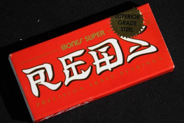 Rolamento Bones Super Reds  - No Comply Skate Shop