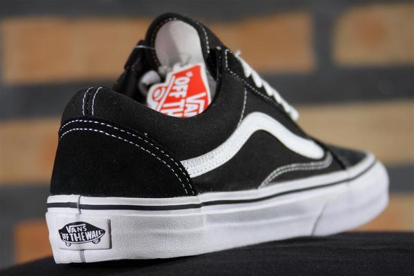 Tênis Vans - Old Skool Black/White