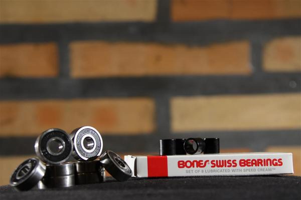 Rolamento Bones Swiss Precision Labyrinth  - No Comply Skate Shop