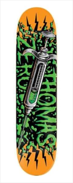 "Shape Zero - Thomas Lethal Injection 8.125""  - No Comply Skate Shop"