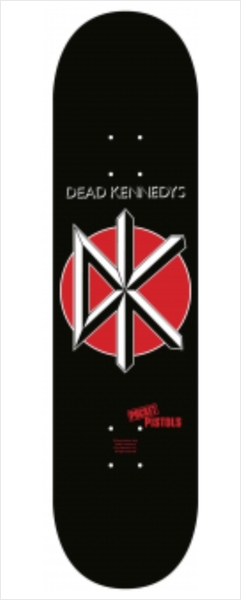 "Shape Pocket Pistols - Maple Dead Kennedys 8.3""  - No Comply Skate Shop"
