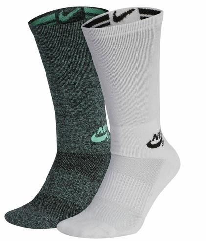 Meia Nike SB Crew 2PR GFX - Multi-color  - No Comply Skate Shop